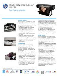 download free pdf for hp designjet z5200 printer manual