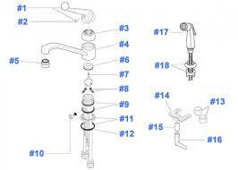 gorgeous delta kitchen faucets parts sink faucet repair design