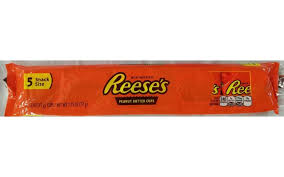 snack delivery reese s peanut butter snack size candy bars online grocery