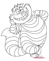 downloads online coloring page cheshire cat coloring pages 32 in