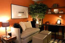 orange livingroom burnt orange and brown living cool orange living room design