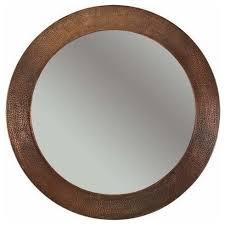 Circle Bathroom Mirror 34
