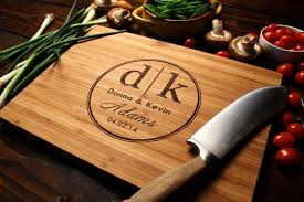 wedding gifts engraved personalized chopping board experience days gift ideas in