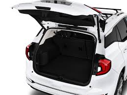 2018 gmc terrain white 2018 gmc terrain cargo space trunk storage room latest cars