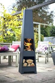 Modern Firepits Garden Chiminea Or Pit Outdoor Fireplace Pits Chimney