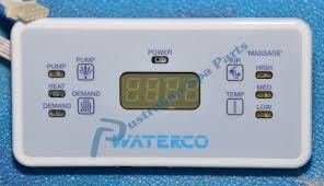 australian spa parts waterco portapac elite touchpad panel ssc