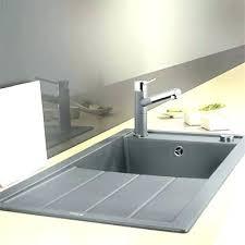 evier design cuisine evier resine gris clair evier resine gris evier cuisine gris acvier