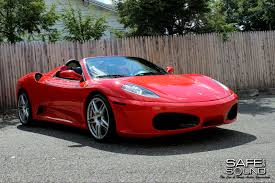 ferrari custom 2005 ferrari f430 spider custom car stereo install safe and