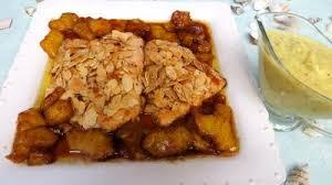 cuisine truite filets de truite aux amandes et ananas recette poissons