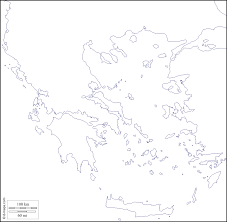Map Greece by Greece Free Map Free Blank Map Free Outline Map Free Base Map