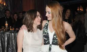 maisie williams and sophie turner quotes about each other