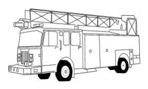 trucks dump truck coloring printable fire truck coloring