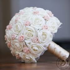 simple wedding bouquets pink real touch wedding bouquets handcrafted by the bridal flower