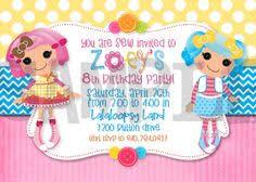 lalaloopsy invitation lalaloopsy birthday by littlerainbowdesign