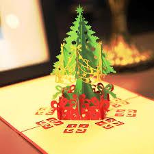 aliexpress com buy 3d pop up christmas cards postcard pop pop