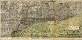 Chicago Tolls Map by Roy U0027s Map Of Chicago 1892