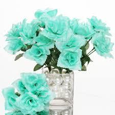 168 silk open roses wedding bouquets flowers centerpieces