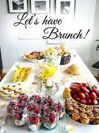 ideas for a brunch pleasing brunch ideas for home home designs