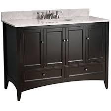 virtu usa ms 48 g es vincente 48 inch single sink bathroom vanity