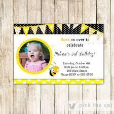 Personalised Birthday Invitation Cards Kids Invitations U2013 Pink The Cat
