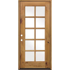 Rough Opening For Exterior 36 Inch Door by Krosswood Doors 36 In X 80 In Classic French 10 Lite W Low E Ig