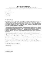 examples of cover letters for a resume 19 example of a cover