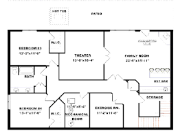 basement floor plans ideas design your own basement design your own basement floor plans