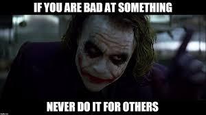 Dark Knight Joker Meme - the dark knight imgflip