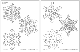 snowflake printable templates coloring pages firstpalette