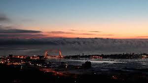 lake superior sea smoke lake superior sea smoke time lapse video youtube