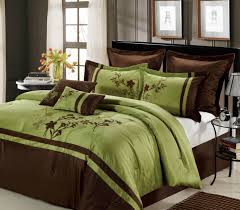 Bed In A Bag Duvet Cover Sets by 12pc Bed In A Bag Toronto Green Chocolate Bed In A Bag