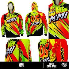 desain jaket racing jaket dragrace hoodie mmi bahan lotto pakai daleman puring