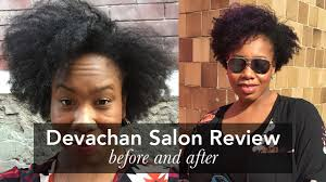 devachan salon review tapered haircut on natural hair youtube
