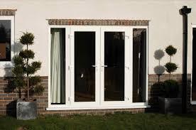 Patio Door With Vented Sidelites by Swing French Door Wooden Aluminum Thermal Break Design