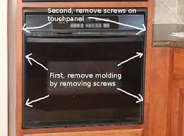 how to remove a whirlpool oven control board