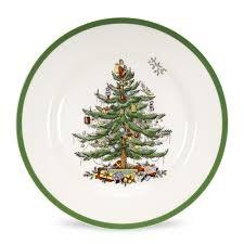 christmas plate spode christmas tree dinner plate 10 5 inch set of 4 spode uk