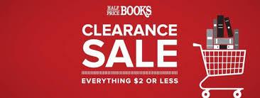 half price books clearance sale in noblesville at hamilton