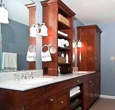 Bathroom Countertop Storage Bathroom Counter Shelves Patternd Me