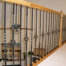 single basket baluster l wrought iron balusters l iron railings l