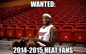 Heat Fans Meme - miami heat fans opt out now free agents page 2 sportshoopla
