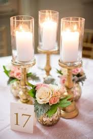 candle centerpiece classic atlanta ballroom wedding atlanta and vases