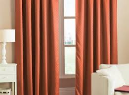 Bright Orange Curtains Decoration Tabtop Voile Panel Terra Red Curtains Rrp Discounts On