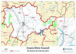The Shire Map Boundary Map And Polling Places Nsw Electoral Commission