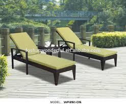 rattan sun loungers cheap trendy luxury pe rattan pool sunbed
