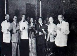 file cocktail party at hotel des indes including usmar ismail and