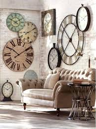 Decorative Metal Wall Clocks Decor Wall Clock Wall Decor Clock Hands Diy Rustic Wall Clock More