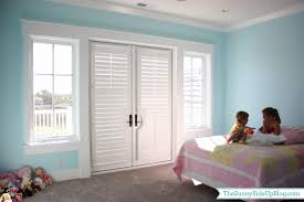 Headboards Made From Shutters Girls U0027 Bathroom Questions Answered The Sunny Side Up Blog