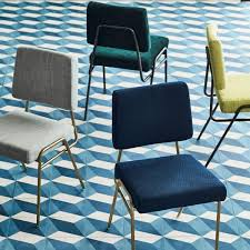 Chair Good Blu Dot Modern Blue Metal Dinin by Our Wire Frame Dining Chair Was Inspired By Mid Century