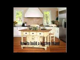 how to build a kitchen island youtube