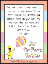 oh the places you ll go graduation oh the places you ll go free printable when i grow up